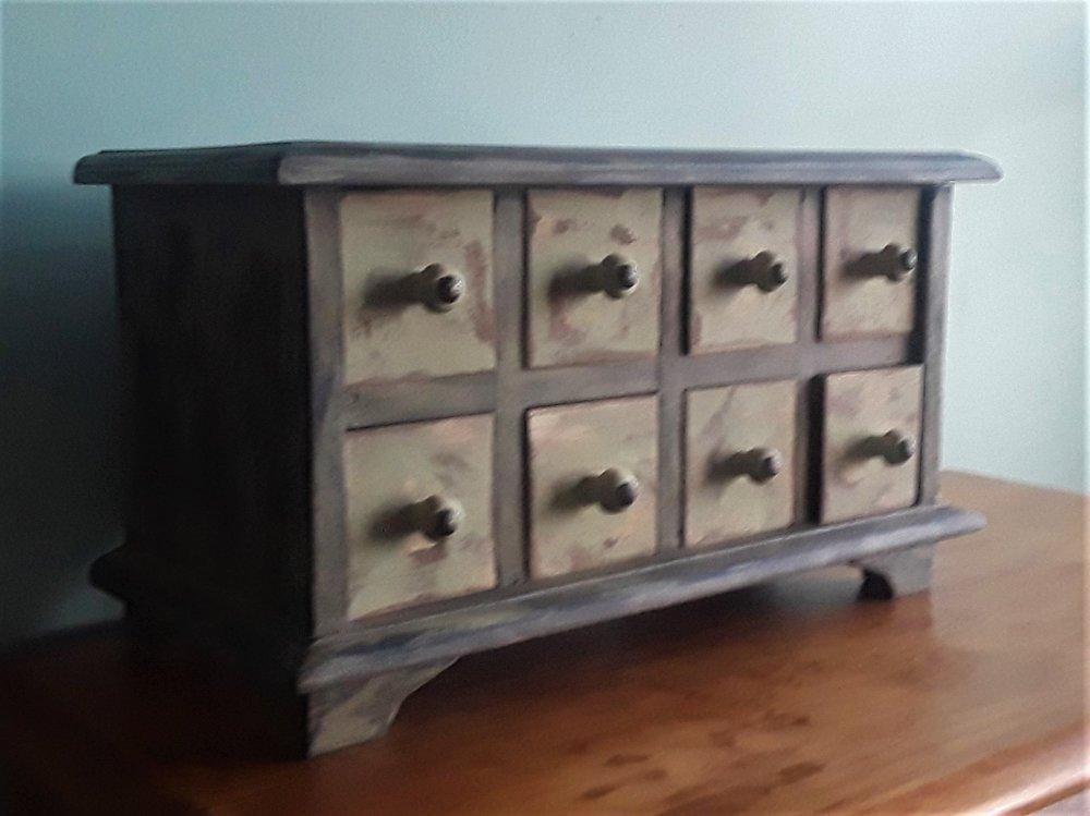Vintage spice cabinet, excellent condition