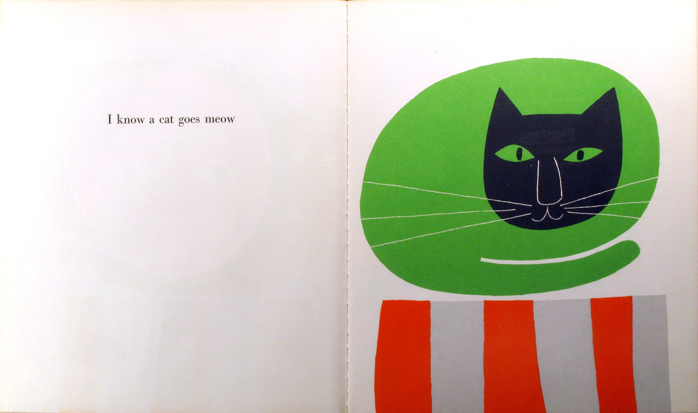 I know a lot of things , Ann & Paul Rand, 1956.