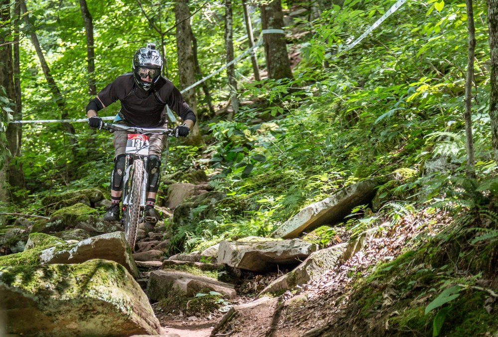 Snowshoe's Lower Hare Ball has legendary rock gardens - Snowshoe Pro GRT 2016