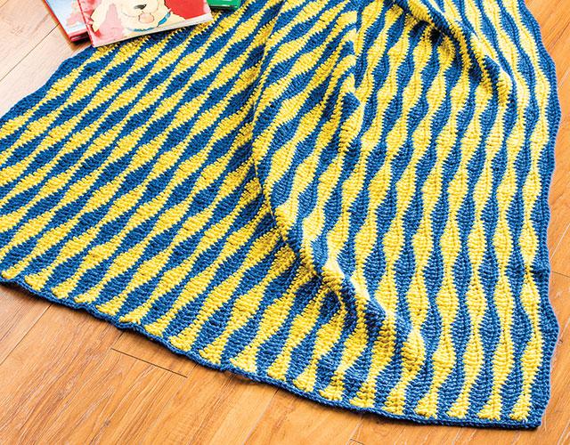 Happy Waves Toddler Blanket