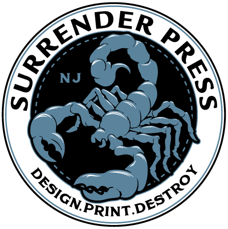 SurrenderPress: Design.Print.Destroy