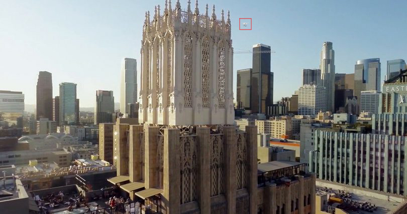 This is what the pilot sometimes sees, Is the drone in front or behind building? Above or below crane? How sure are you?
