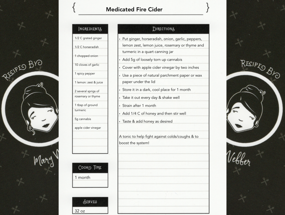 Medicated Fire Cider - Download Recipe
