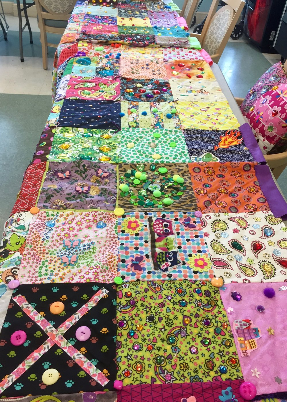 Community Quilt at Autumn Green at Midway.