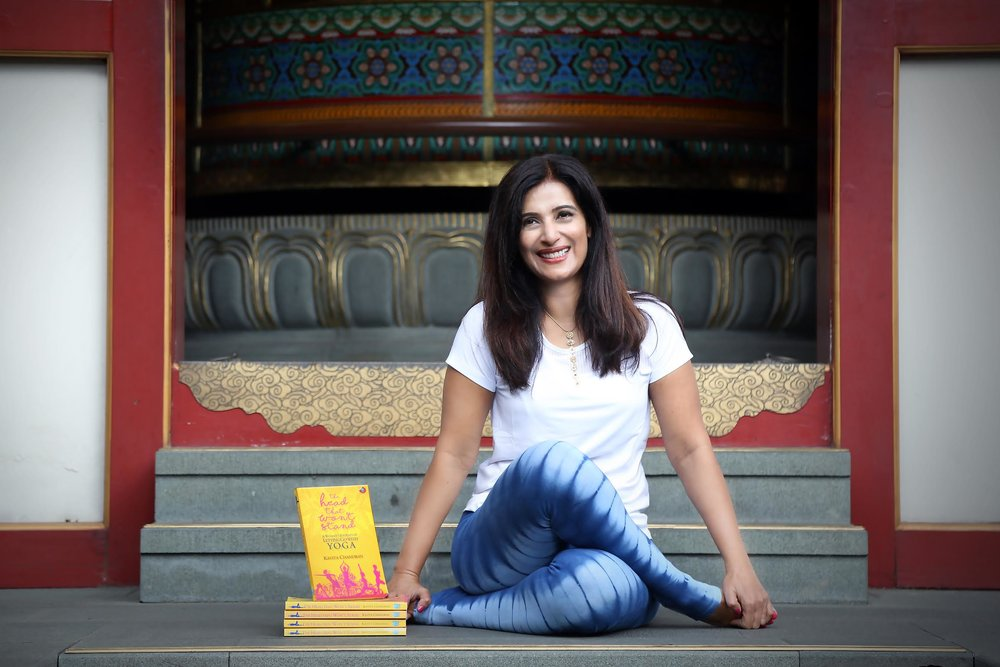 Kavita Chandram    author & editor of Yoga Journal (SG)