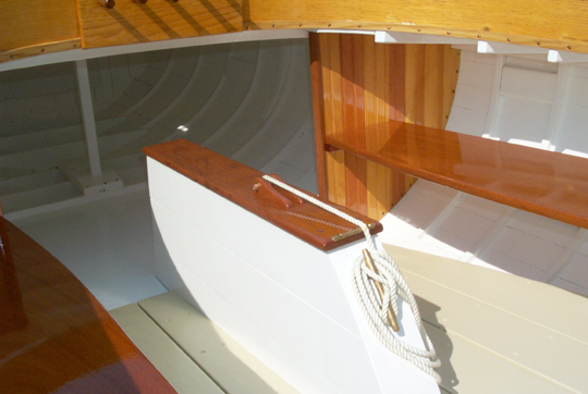 1915 Herreshoff Buzzard Bay 15 Restoration