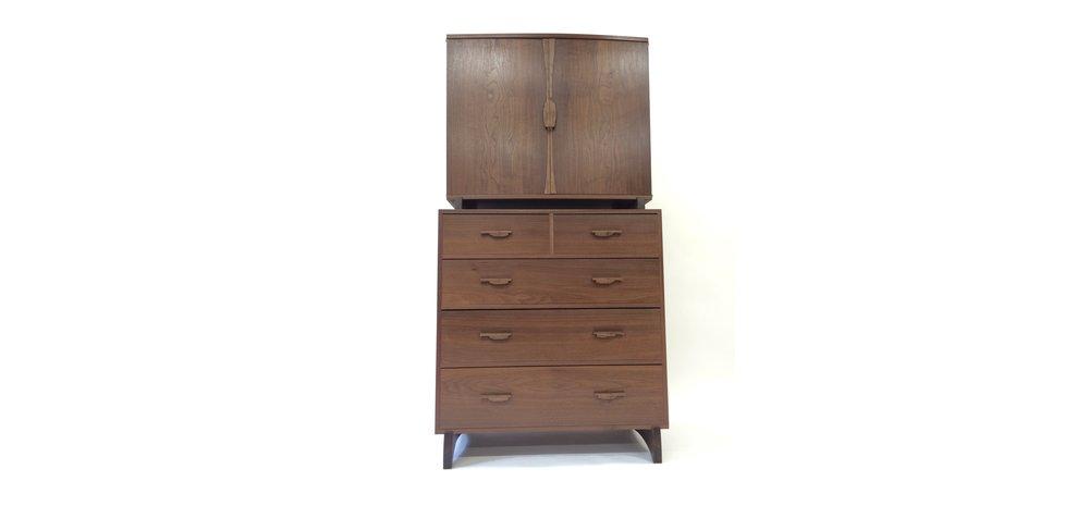 Geoff McKonly Furniture Walnut Dresser.png