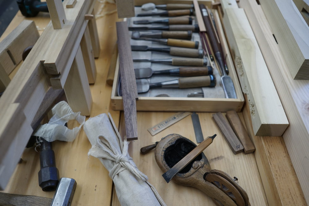 Chisels and other traditional tools