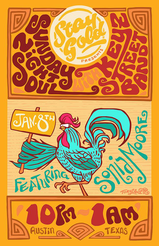 toryelena_staygold_rooster_rocknroll_rockposterart.jpg