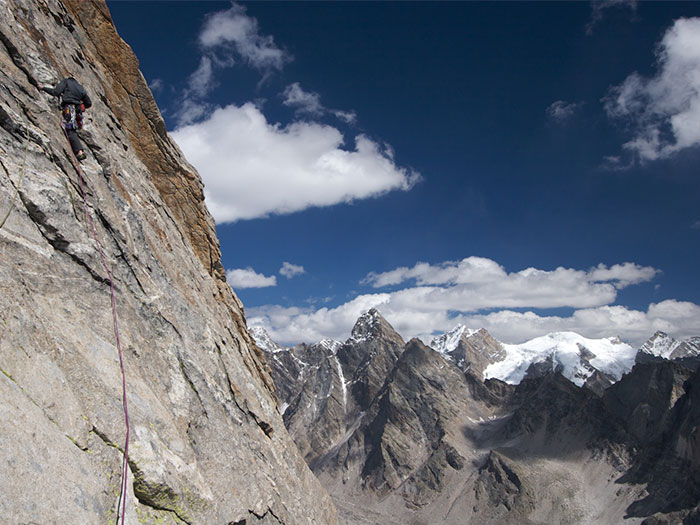 Miyar Valley Climbing