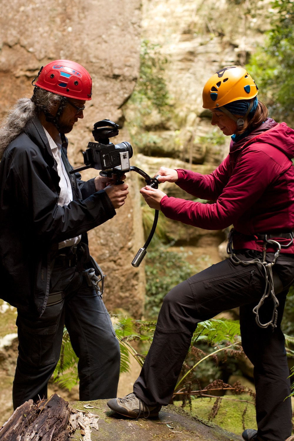 steadycam merlin - blue mountains filming