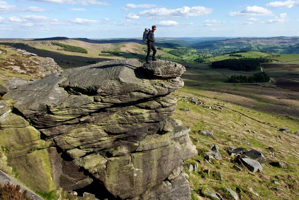 Stanage, Peak District, UK