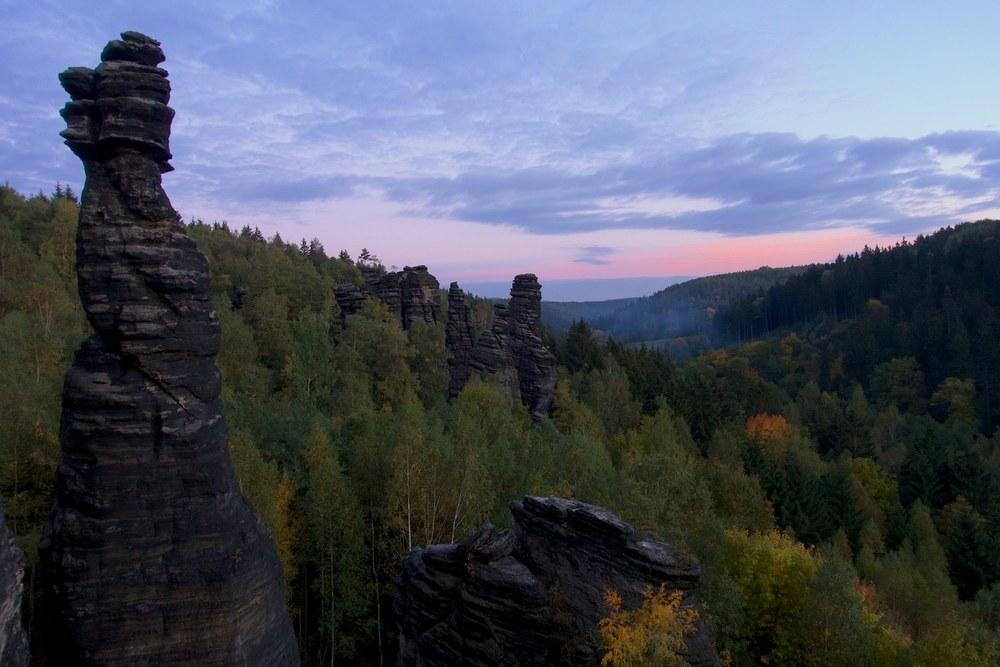 Bieletal towers, Elbesandstein