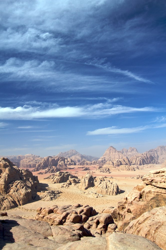 The spectacular Wadi Rum scenery from Burdah.jpg