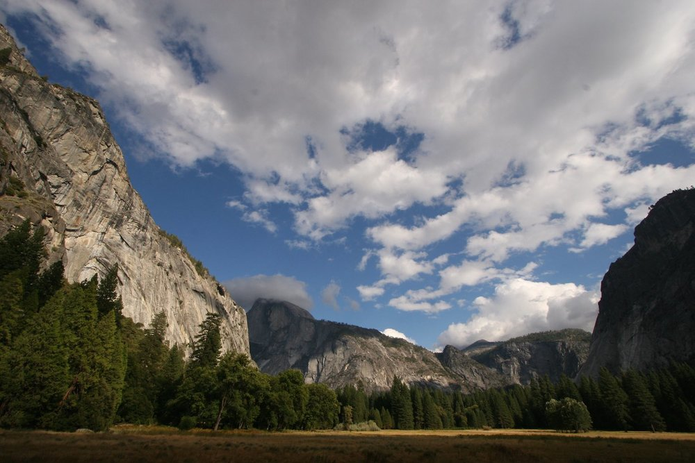 Yosemite Valley - Half Dome is in the distance