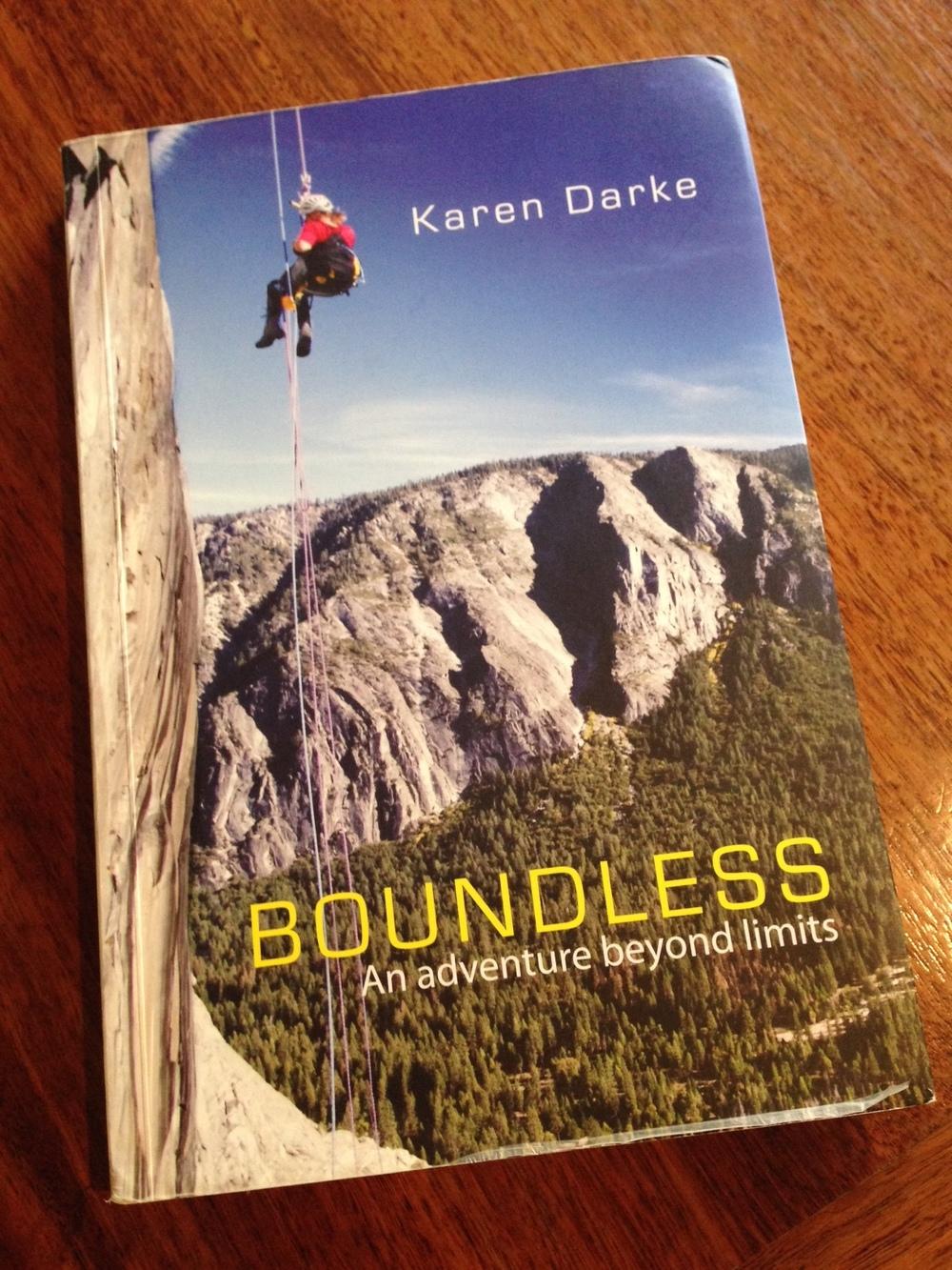 'Boundless', book by Karen Darke, 2012