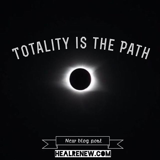 Just blogged again...I was finally able to sit and put my eclipse experience into words.  Hope you enjoy!#healrenew #totality #eclipse #blog #solareclipse2017 #corona