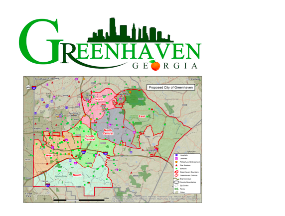 Chapter 3: - Becoming a CityWhile the county continued to provide services, people in the north wanted more local control and enrichment so they formed cities.In time, people in south DeKalb realized cityhood was good for them too. They decided to form Greenhaven so they could take advantage of the land area that contains the future economic development potential of DeKalb County. Their priorities were Economic Development, Quality of Life, Education, Safety and their own STEAM.