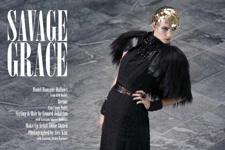 savage grace makeup by abbie