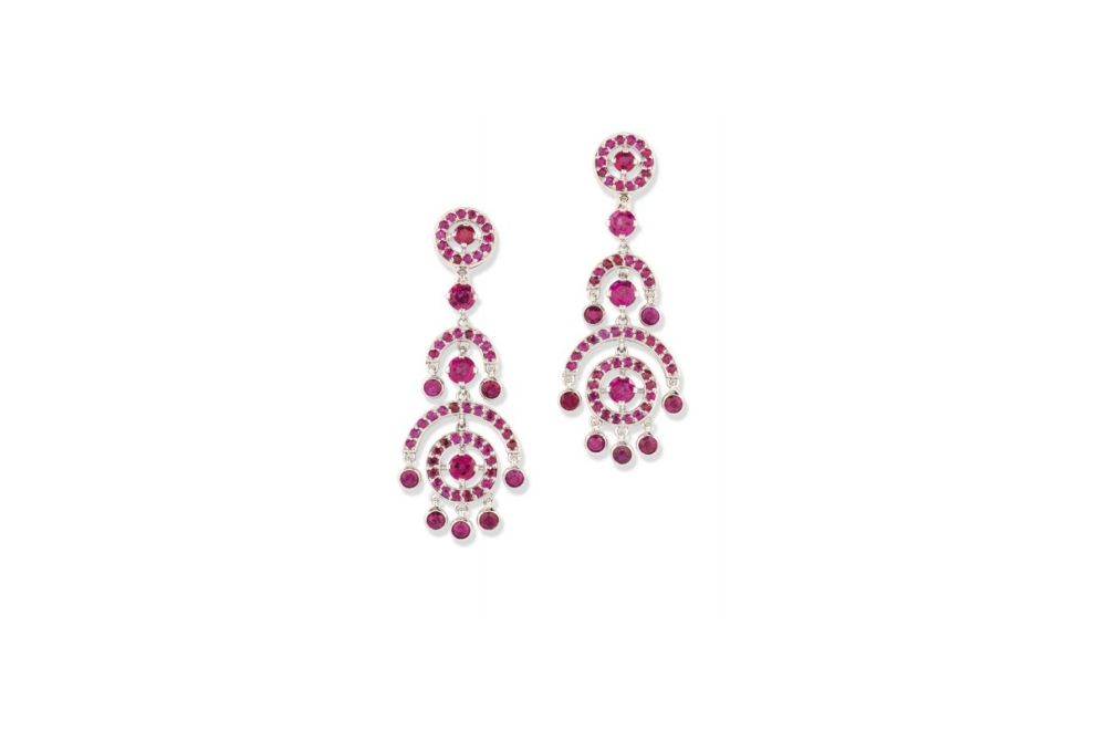 Boucheron Ruby Earrings
