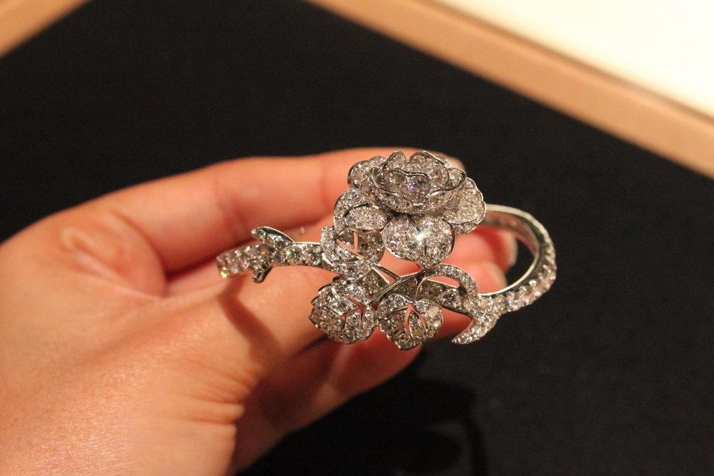 Wartski Flato Floral Diamond Bracelet.JPG