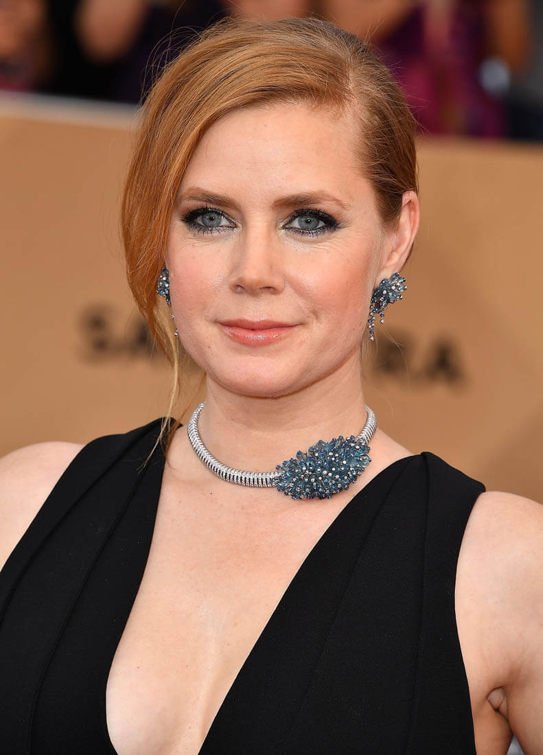 Amy Adams in Cartier.
