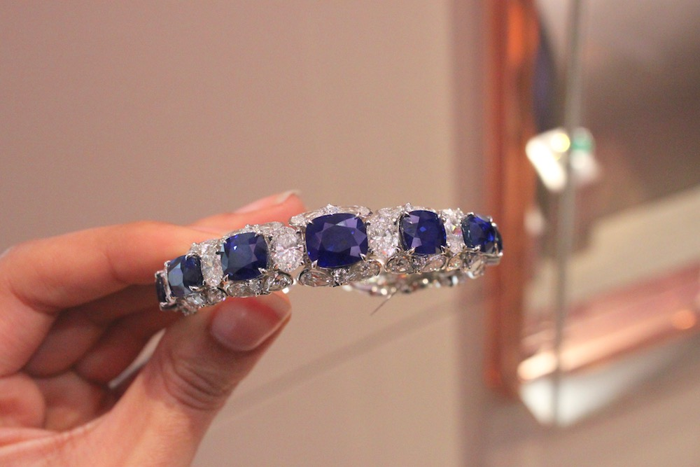 David Morris Burmese Sapphire Bracelet