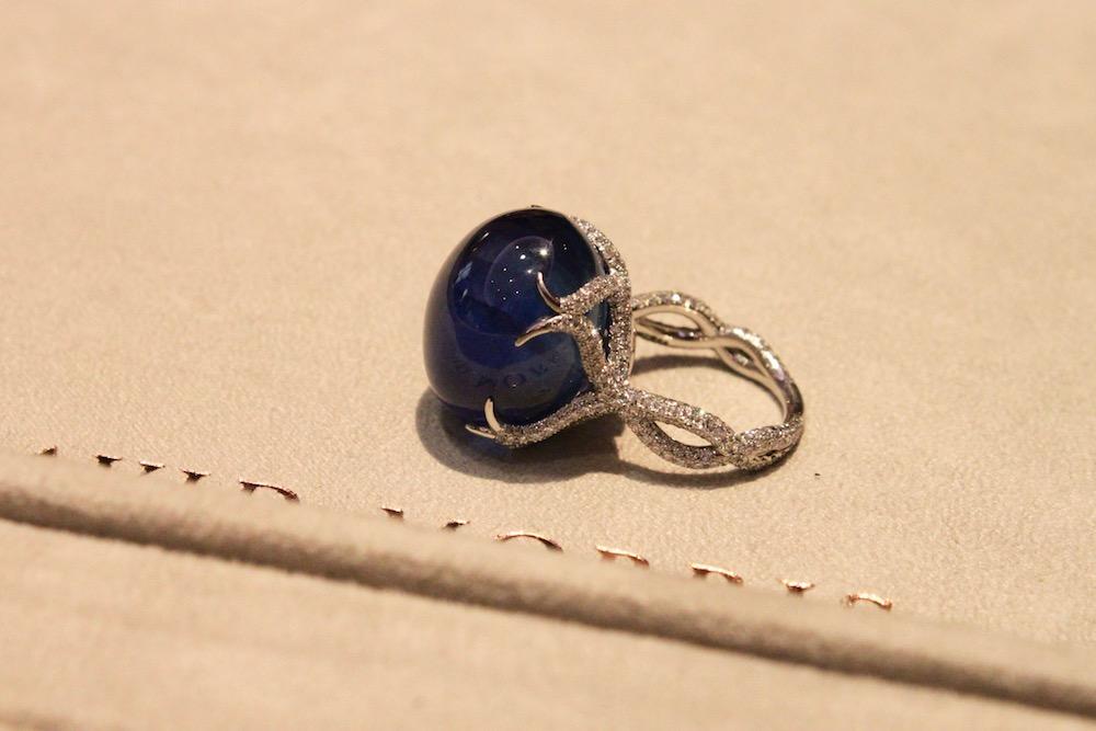 David Morris Sapphire Ring