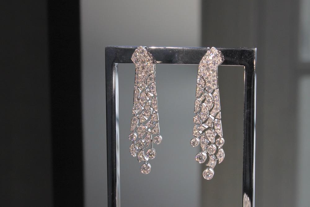 'Lucienne' earrings.