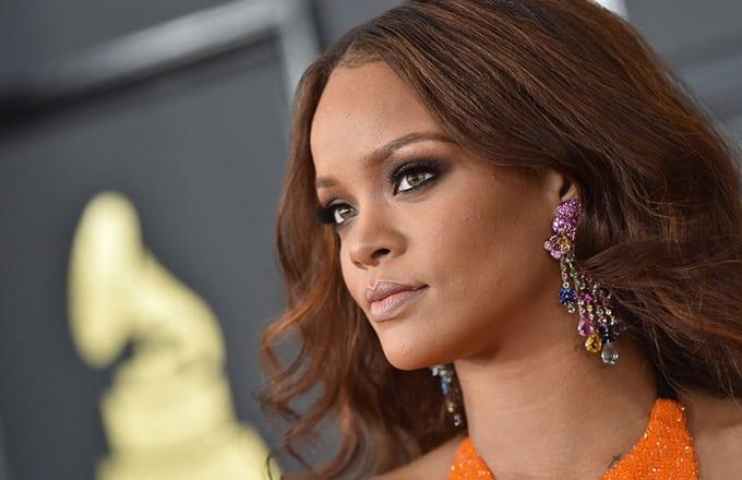 Rihanna wearing Chopard