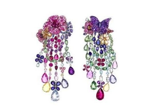 Chopard high jewelry earrings.