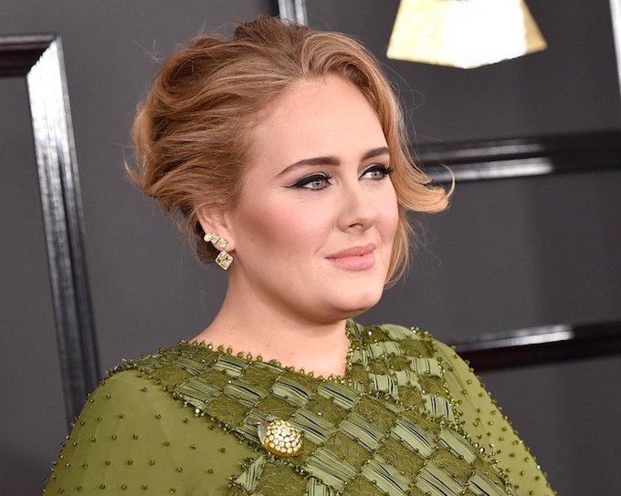 Adele wearing Lorraine Schwartz
