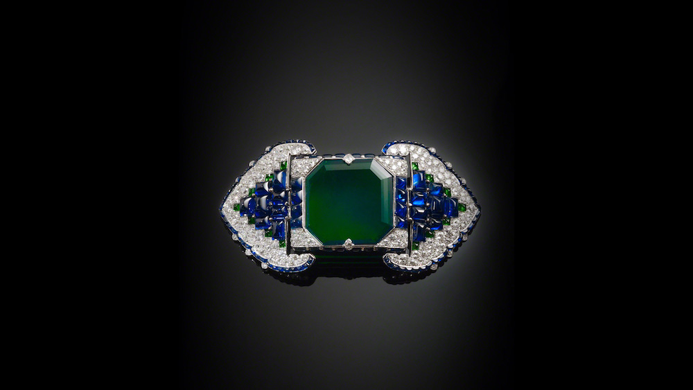 Belt brooch, Cartier 1922. Image courtesy of the Al Thani Collection.