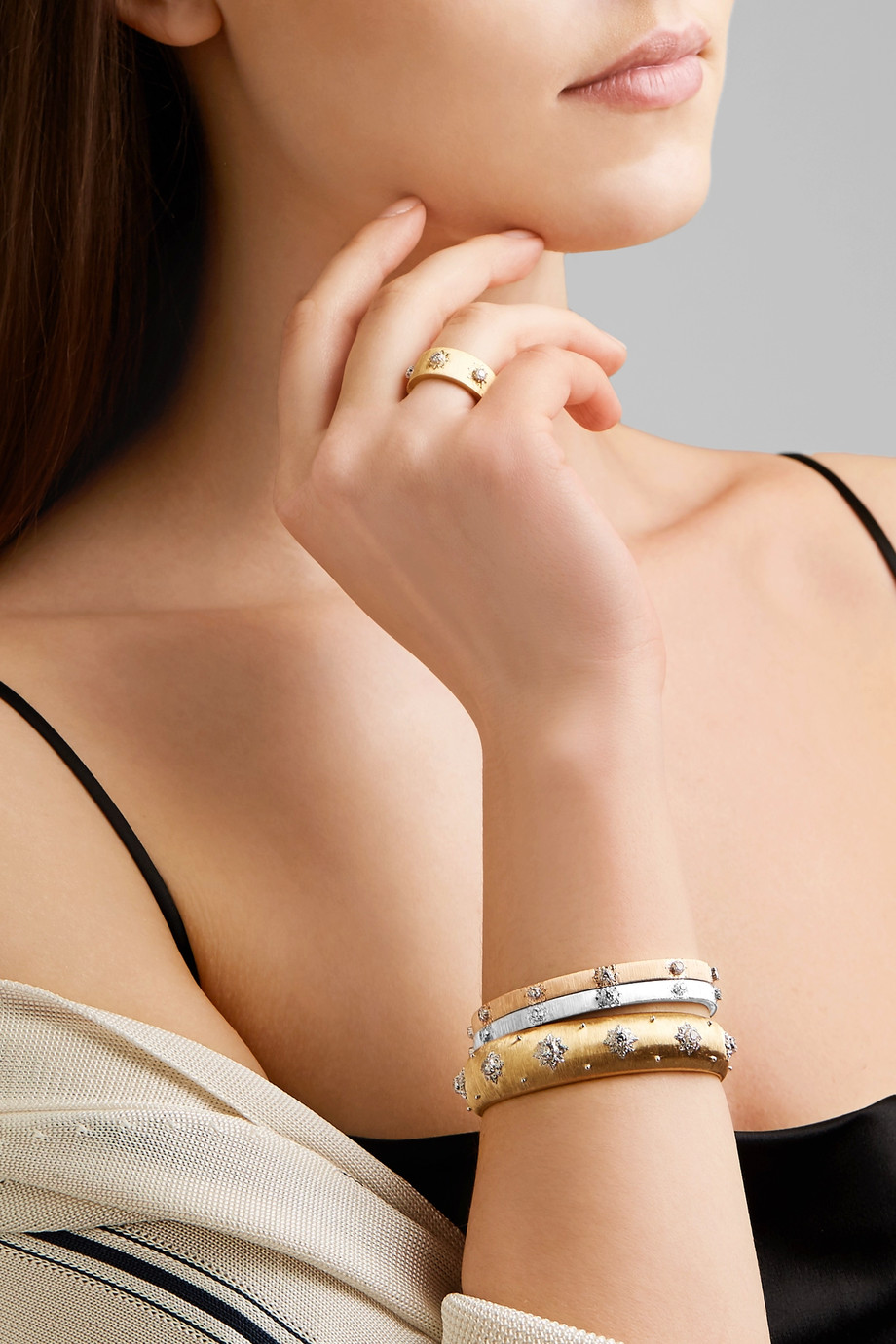 Buccellati Macri Bracelet Cuff Ring.jpeg