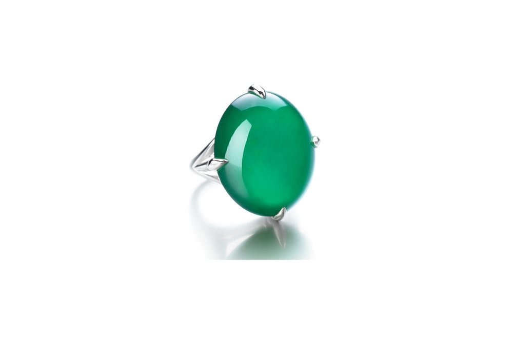 Lot 1767: Important Jadeite Ring