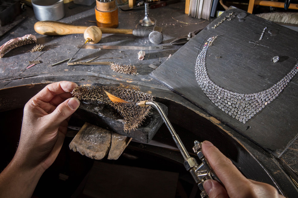 Making of the Messika Madeline Necklace (Image courtesy of Messika)