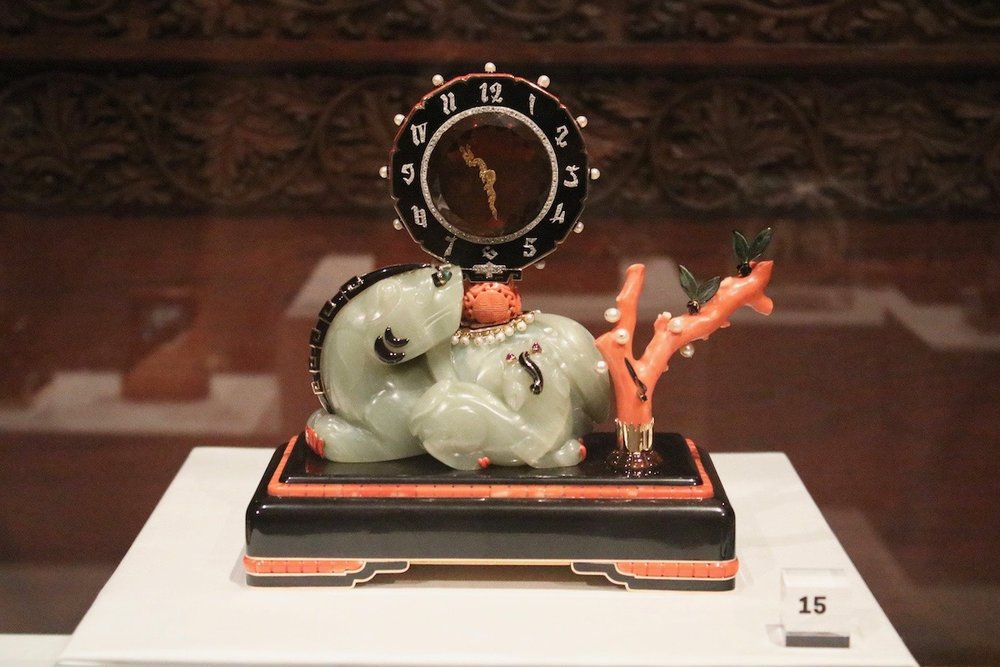 Cartier, Imperial Guardian Lion Mystery Clock, 1929