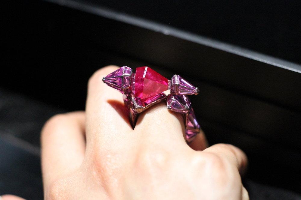 Wallace Chan 'Ruby Castle' Ring (Koliero)