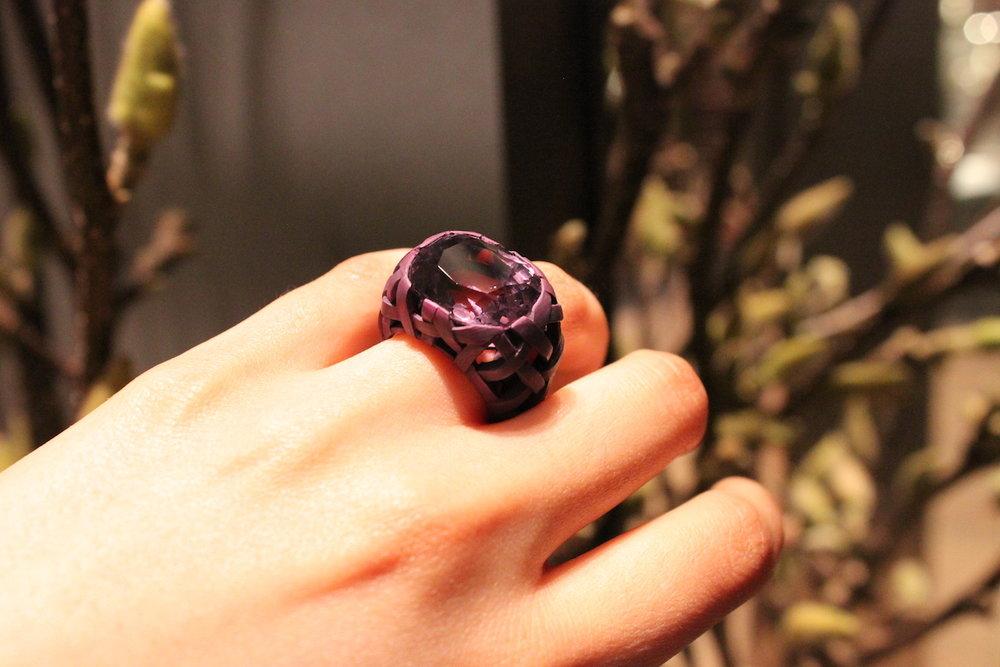 Hemmerle Purple Spinel Ring (Koliero)
