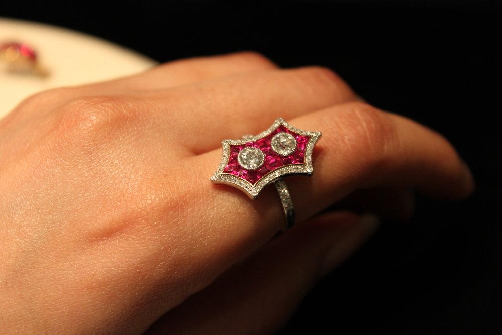 SJ Shrubsole Ruby Ring (Koliero)
