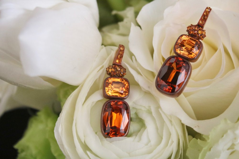 Hemmerle Mandarin and Spessartite Garnet Earrings.jpg