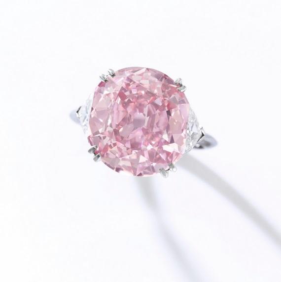 Lot 371: Fancy Intense Purplish-Pink Diamond,7.04cts, Piaget - Estimate $8-12 million