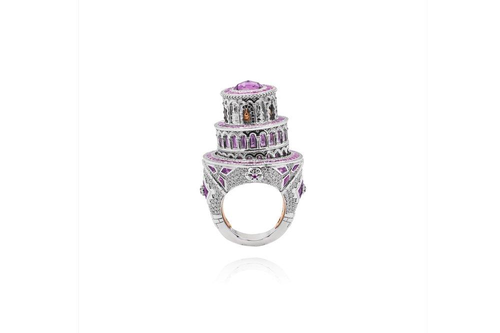 'Pisa' ring