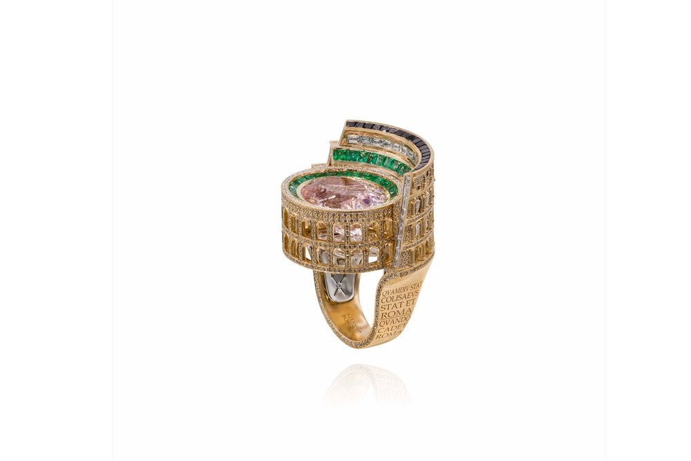 'Colosseum Now' ring