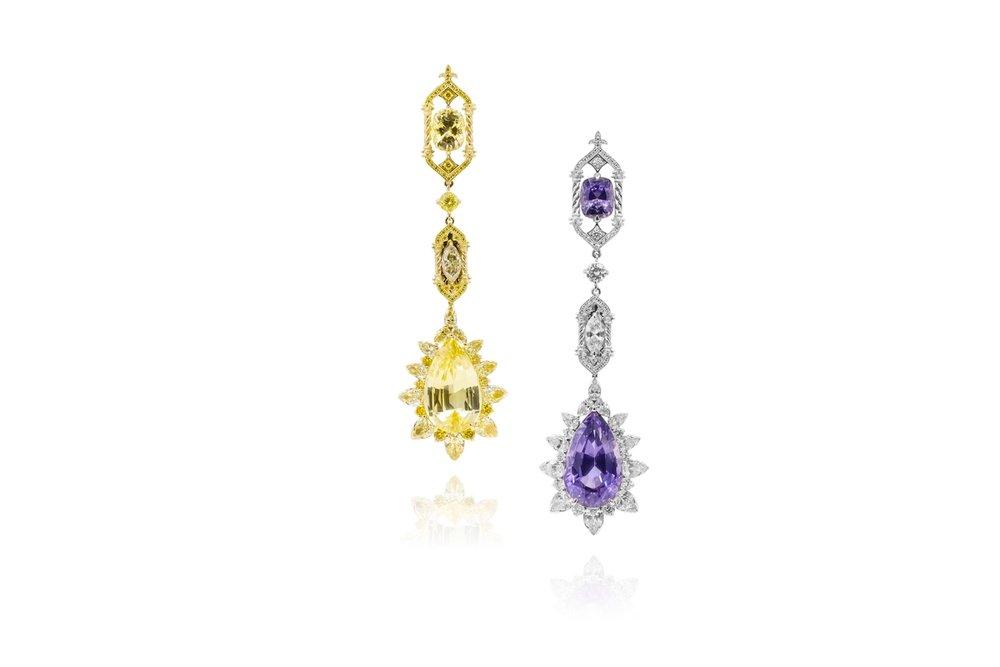 'Venice - Paper Gate' earrings