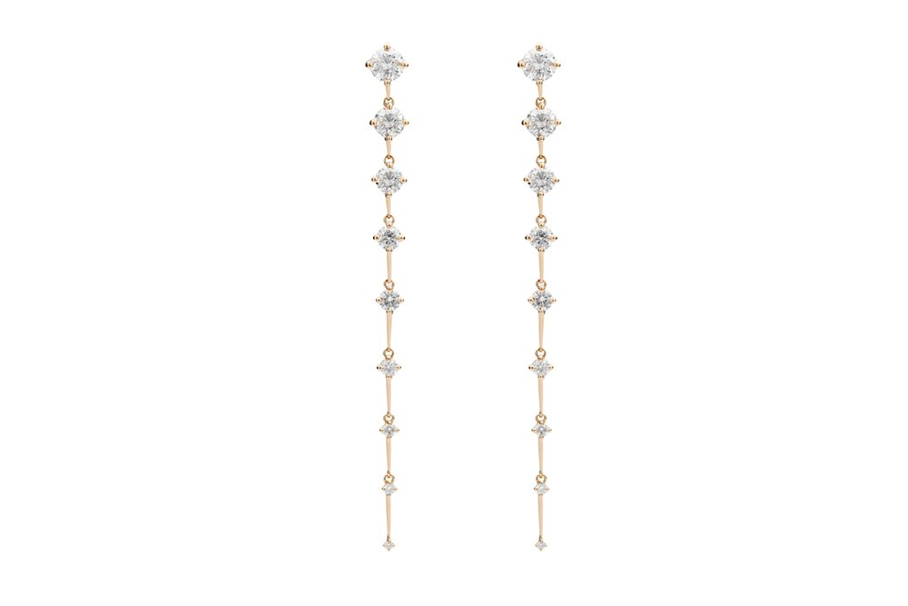 Sequence Long Earrings