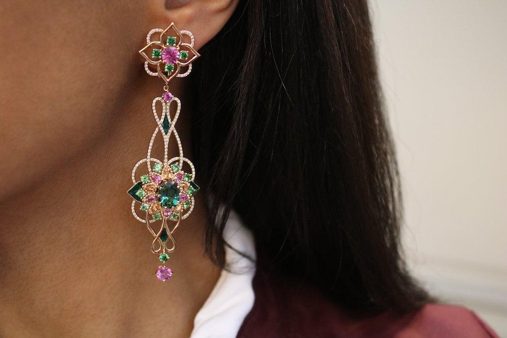 'Giardino' earrings