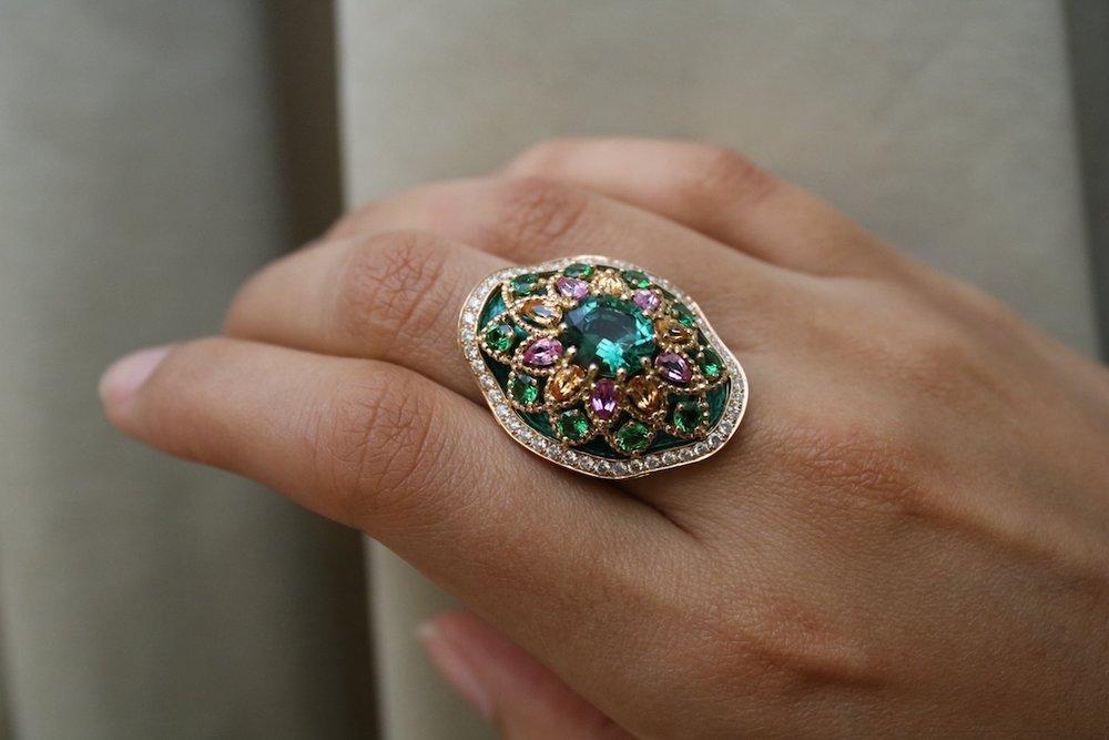 'Giardino' ring