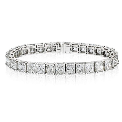 David Gross Platinum Tennis Bracelet.jpg