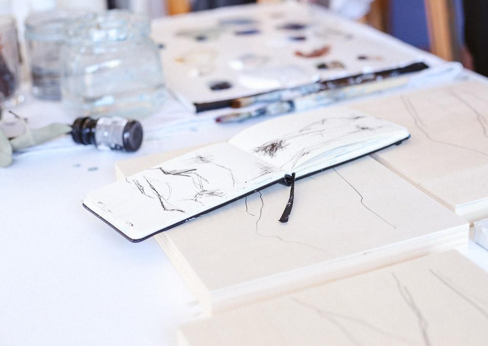 Sketchbook by Monika Kralicek